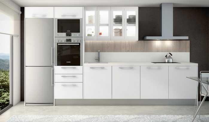 Cocina Blanca ejemplo 4