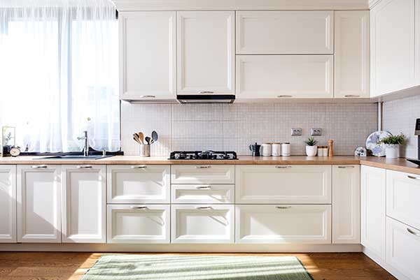 Cocina Blanca ejemplo 5