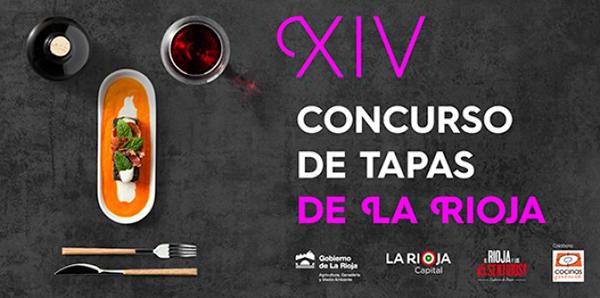 Cartel del XIV Concurso de Tapas de La Rioja