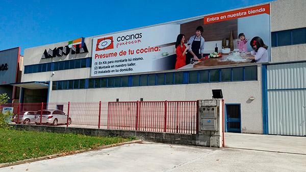 Imagen de la tienda de Cocinas.com en Pamplona