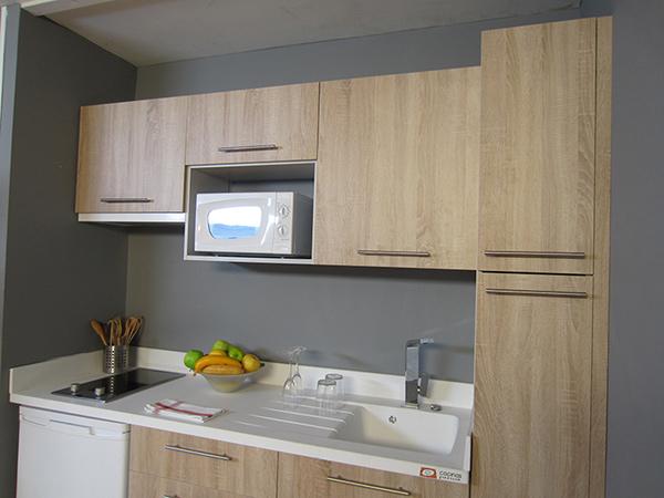 Imágen de la cocina montada por Bricomania