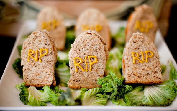 sandwitches salados halloween