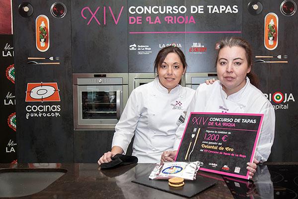 Foto de las ganadoras del concurso