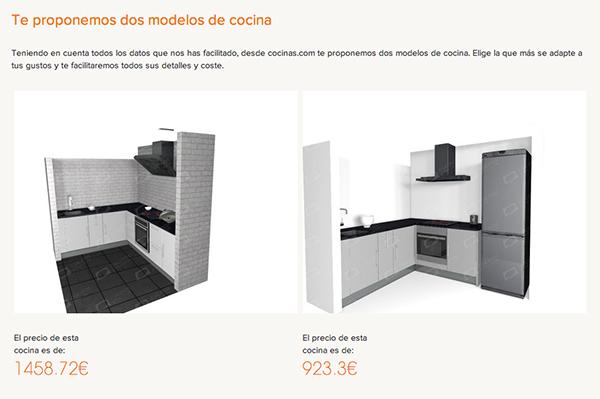 Imagen de dos cocinas de Cocinas.com