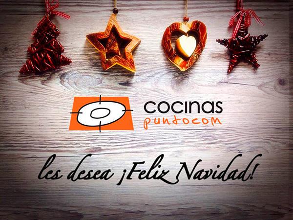 Felicitación navideña de Cocinas.com