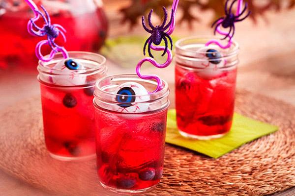 Imagen de un ejemplo de bebida para Halloween