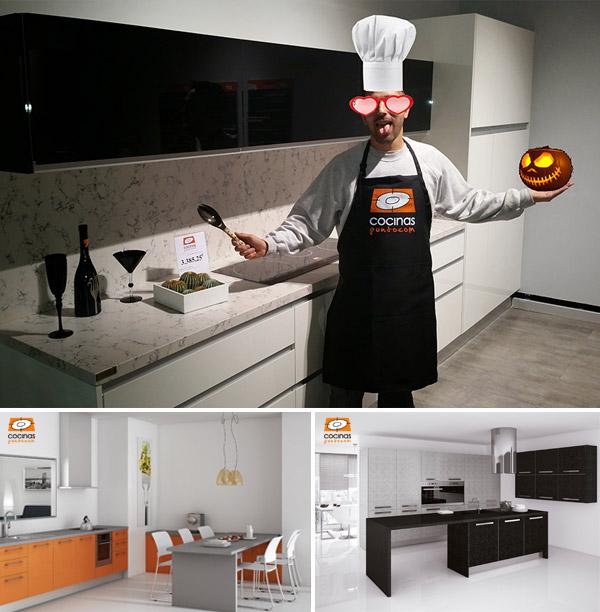 modelos cocina de cocinaspuntocom en color halloween