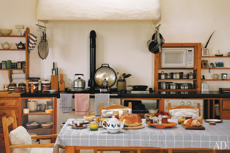 Cocina de la millonaria Angela Lansbury