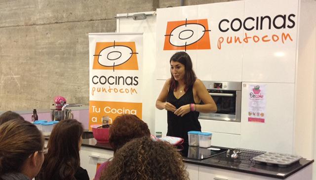 alma obregon cocinas puntocom en creativa cook madrid show cooking
