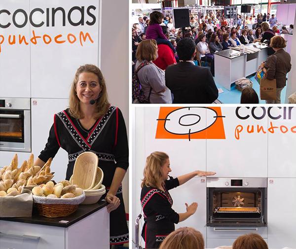 webosfritos en cocinas puntocom en creativa cook madrid show cooking