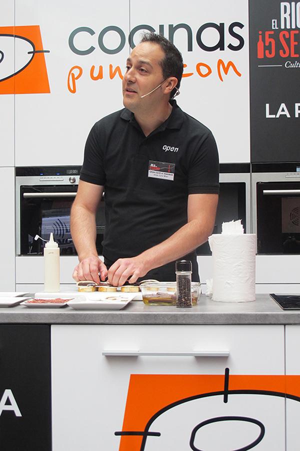 show cooking cocinas.com concurso tapas la rioja