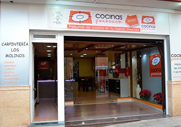 Imagen de la fachada de la tienda de Cocinas.com Carpinteria Los Molinos