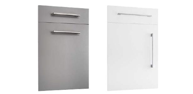 Imagen de unos ejemplos de puertas de la empresa Logisiete