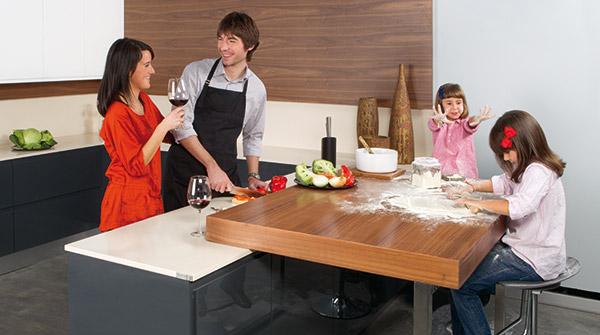 modelo de cocinas puntocom en familia