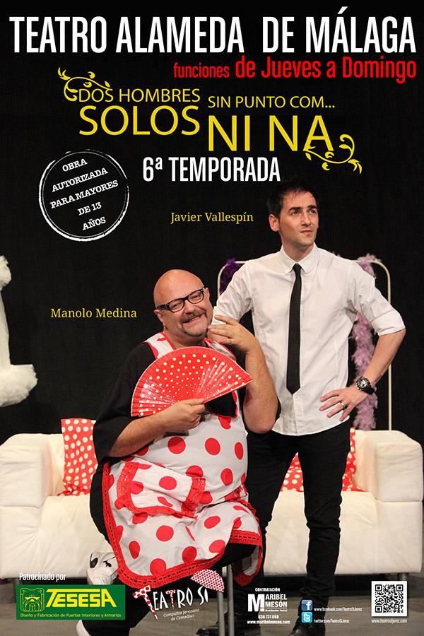 Imagen del cartel de la obra de teatro