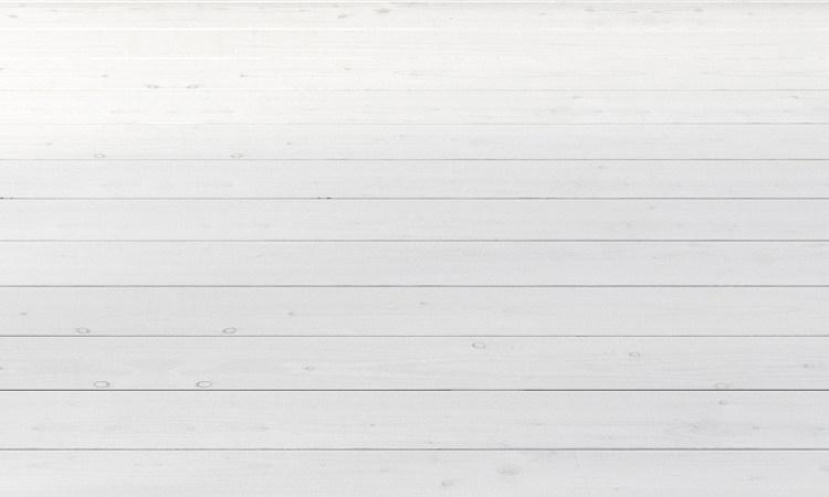 Suelo blanco de láminas