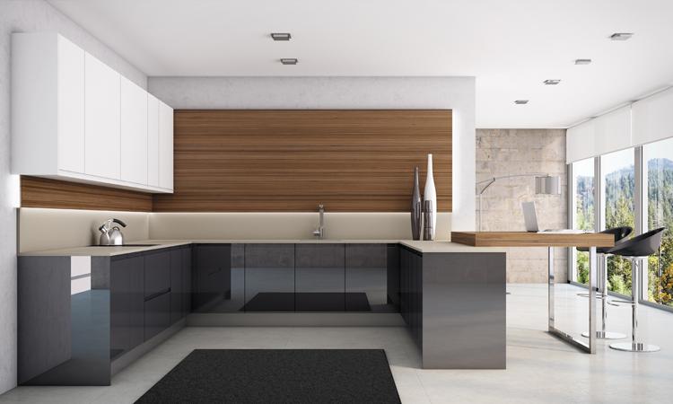 alfombras en la cocina