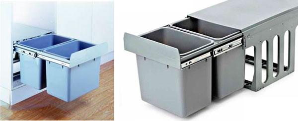 Imagen del cubo de basura de Cocinas.com